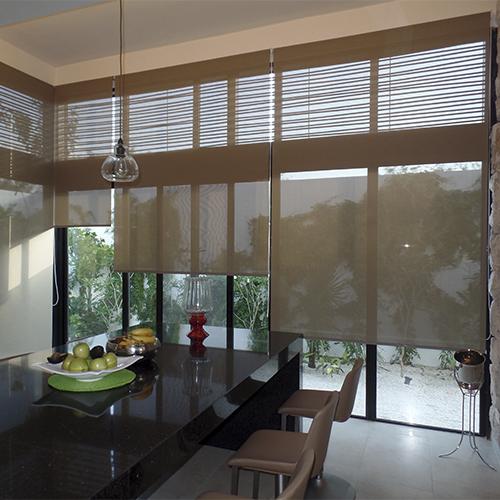 Cortinas persianas y toldos interiores merida for Diseno de interiores merida